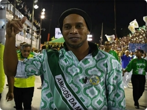 Ronaldinho and his brother are in custody in Paraguay