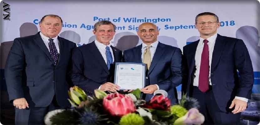Gulftainer Signs concession to Operate and Expand Port of Wilmington in Delaware, USA