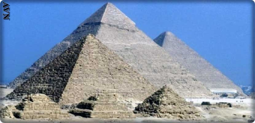 An ancient papyrus revealed the infrastructure used by the builders of the pyramids using a network of water channels that flowed from the Nile to the site of the pyramid building with special boats to transport the stones.