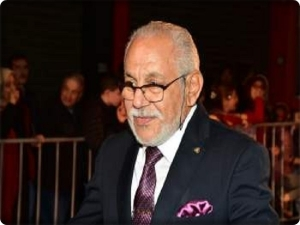 Moroccan actor Khaled Bakouri