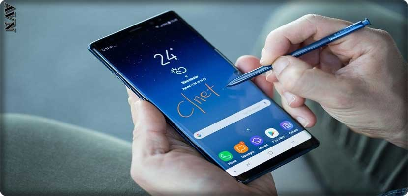 """S-Pen"" of Galaxy Note 8"