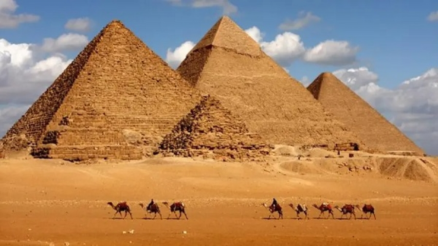 The Pyramids of Giza were built by aliens