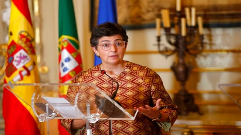 Arancha Gonzalez Laya, Spanish Foreign Minister in court because of the leader of the Polisario Front