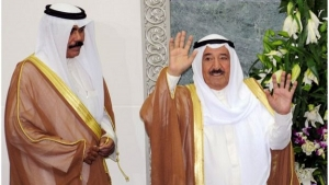And Sheikh Nawaf Al-Ahmad Al-Sabah is a half-brother of the Emir of Kuwait.