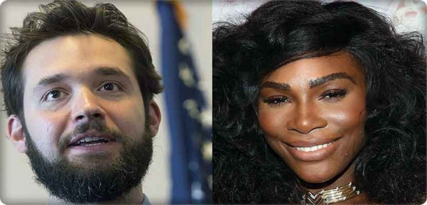 Serena Williams announced her engagement on Olixiz Ohanyan