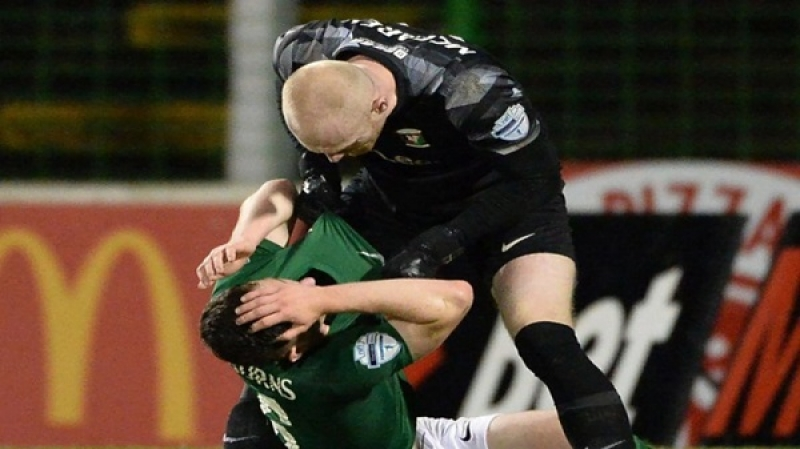 The first attack of its kind in the Irish Football League