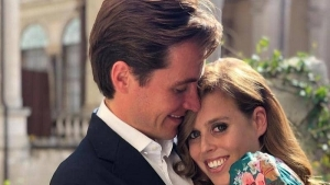 The wedding of the Queen's granddaughter, Princess Beatrice, of the British real estate developer, Eduardo Mozy