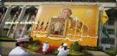 The remains of the king of Thailand, Bumibol Adulyadej, were buried one year after his death