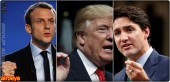 Trudeau and Macron said they should not hesitate to reach agreements without Trump.