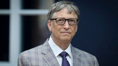 "Bill Gates surprised by his introduction to the ""Corona virus conspiracy"" theory"