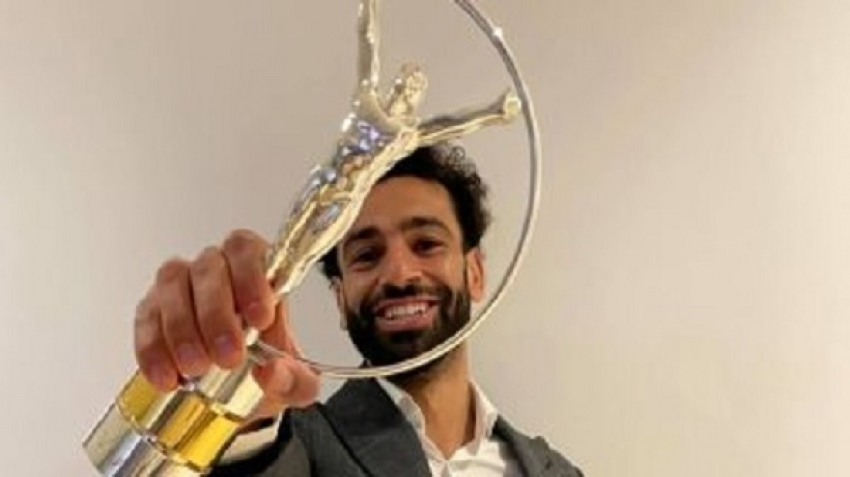 Echoes of Mohamed Salah winning the Lauris Prize for Sports Inspiration