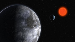 Astronomers called the two planets discovered around the star Glies 887b and Glies 887c.