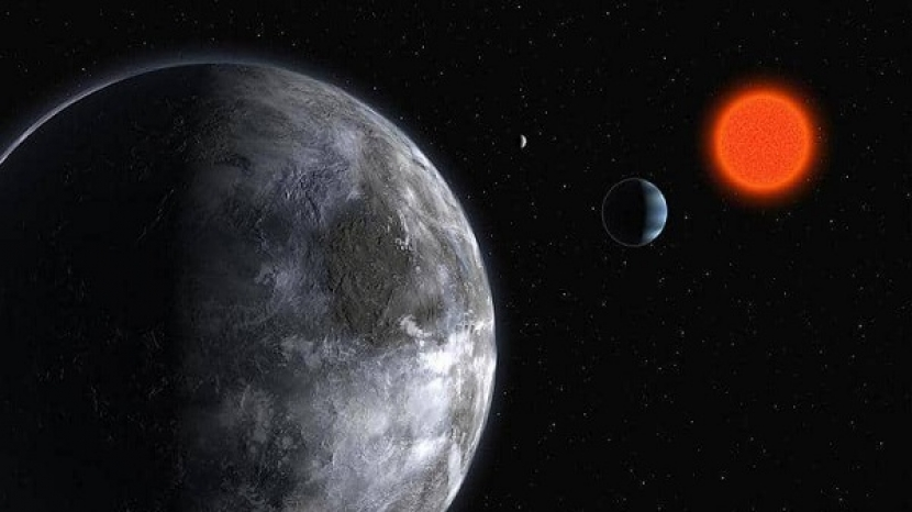 The discovery of two Earth-like planets and the possibility of a third