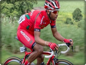 Moroccan cyclist, Mahdi Shoukry, joined an Israeli club for a few hours