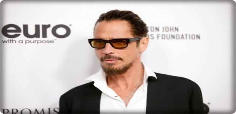 The American rock singer Chris Cornell