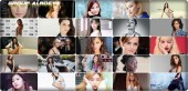 the 100 most beautiful face of women during 2017