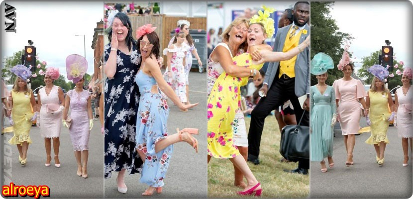 Shots of the Royal Ascot