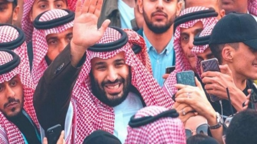 The Saudis are in solidarity with the crown prince against the CIA report