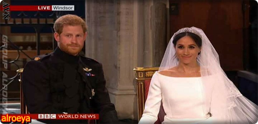 Wedding of Prince Harry and Megan Markle at Windsor Palace