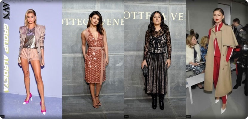 Hollywood stars at the New York Fashion Week of the fall of 2018 NYFW Fall