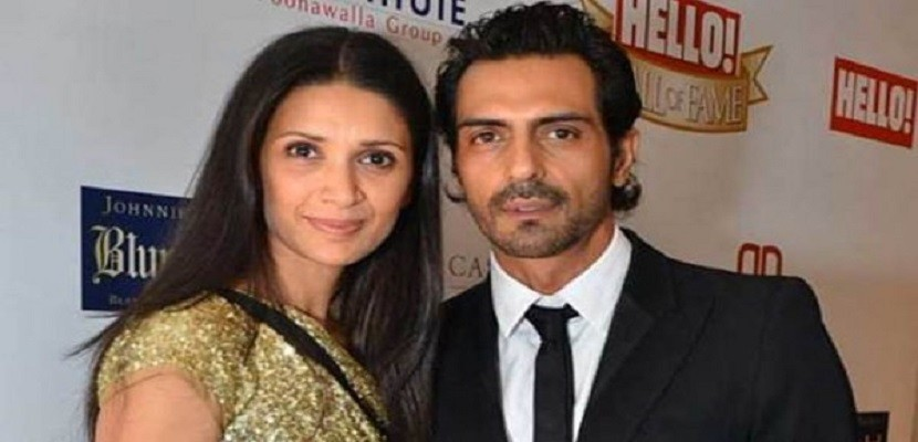 The Indian star Arjun divorced his wife, Miss India's former, Mahr Gisia