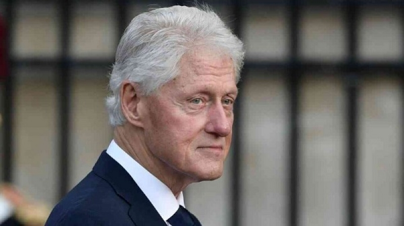 Bill Clinton recovered from an infection in his blood