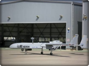 The new aircraft is an updated model of the HERON UAV aircraft