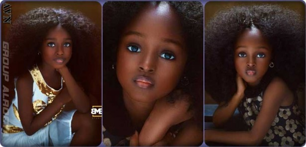 Jare, the Nigerian who won the title of the most beautiful girl in the world