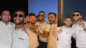 The development of the crisis of the Egyptian artist Mohamed Ramadan after a picture with the Israeli actor, Elad Tesla, the singer Omir Adam, and the Israeli football player Dia Sabaa.