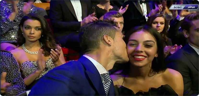 Cristiano Ronaldo, with his girlfriend, supermodel Georgina Rodriguez