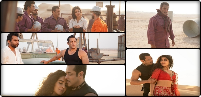 Photo Exclusive: Salman Khan and Katrina Kaif on the set of Bharat in Abu Dhabi