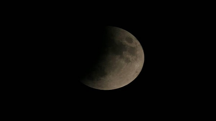 The Earth is witnessing a semi-shadow eclipse of the moon