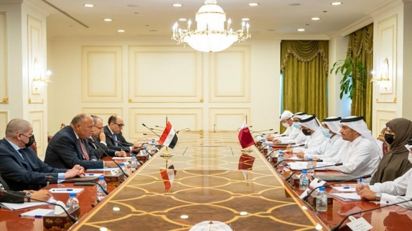 Egypt and Qatar, and the consensus of visions on regional issues