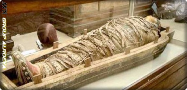 The secrets of Pharaonic Egypt are revealed by a coffin that has been neglected for 150 years