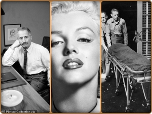 the doctor Ralph Greenson, who found Marilyn Monroe's body, and some suspect that he gave her an overdose of the sedative barbiturate that killed her in 1962.