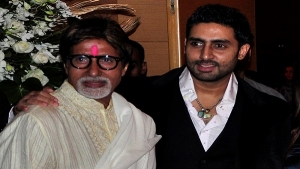 Amitabh Bachchan and his son Abhikik Bachchan were transferred to Nanavati Hospital in Mumbai, India