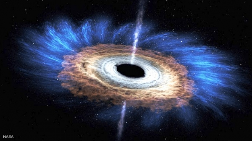 Space collisions between black holes and neutron stars