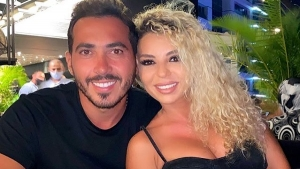 Lebanese-British businessman, Zak Bashasha and Lebanese actress, Joanna Karaki