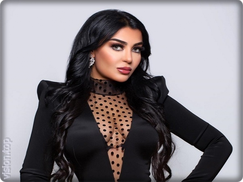 Miss Iran  Lily ahmad ali denies its relationship with Wael Kfoury