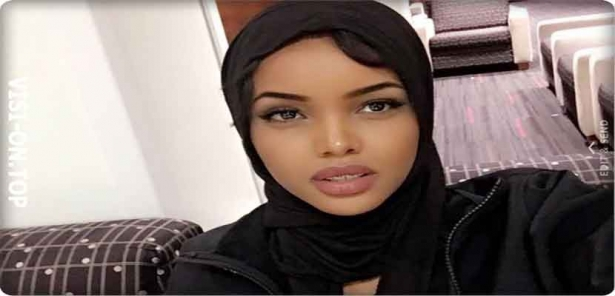 Photos, Somali Halima Adin that will participate in the Miss America contest