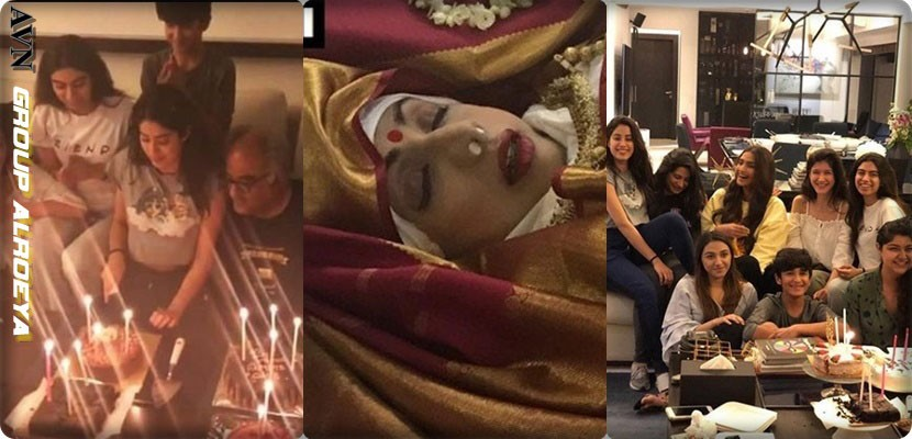 The daughter of Bollywood star Sridivi Kapoor celebrates her birthday days after the death of her mother