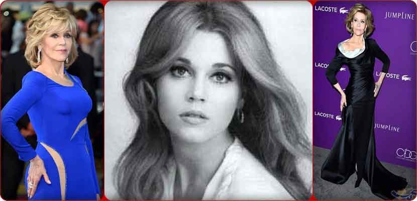 "Jane Fonda is the daughter of Henry Fonda winning an Academy Award, was nominated for an Oscar seven times. And won the Best Actress Award twice, in 1971 for the crime thriller ""Clottey,"" and the second time in 1979 for the film War and Romance ""Homecoming."""