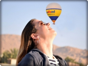 The balloon trips - the airship - in Luxor, is one of the most prominent adventure trips that tourists