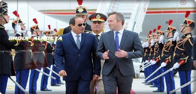 Egyptian President Abdel Fattah al-Sisi agreed with his French counterpart Emmanuel Macaron