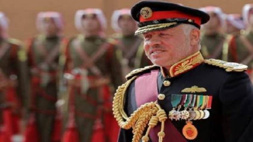 The Jordanian monarch sends a message to his people