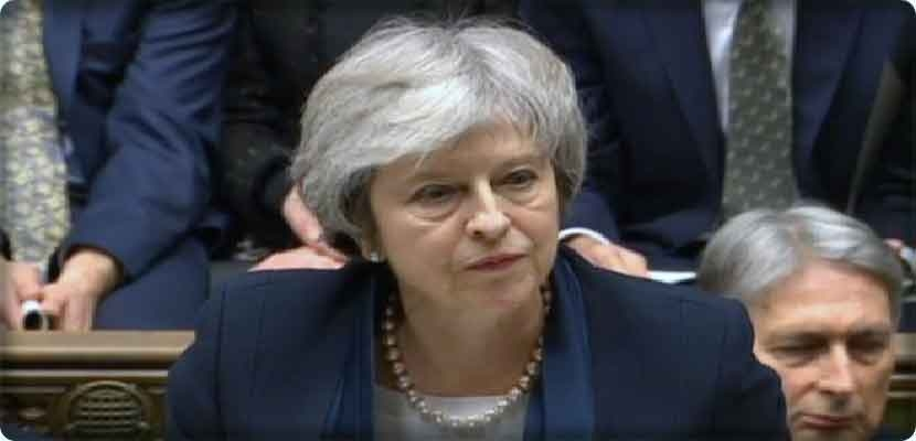 British Prime Minister Teresa Mae is deadlocked