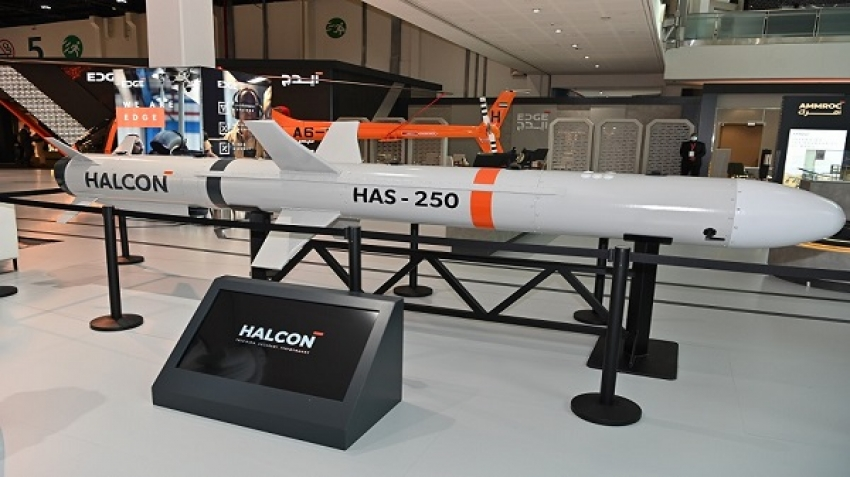 HALCON Unveils First Anti-Ship Cruise Missile at IDEX 2021