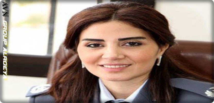 Susan El Hajj, a Lebanese officer accused of fabricating labor for Israel by Ziad Itani