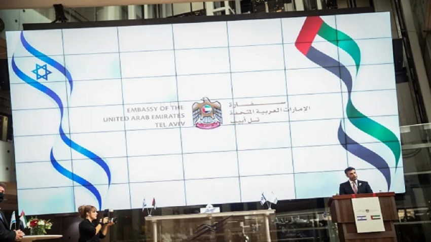 Coordination of positions between Israel and UAE