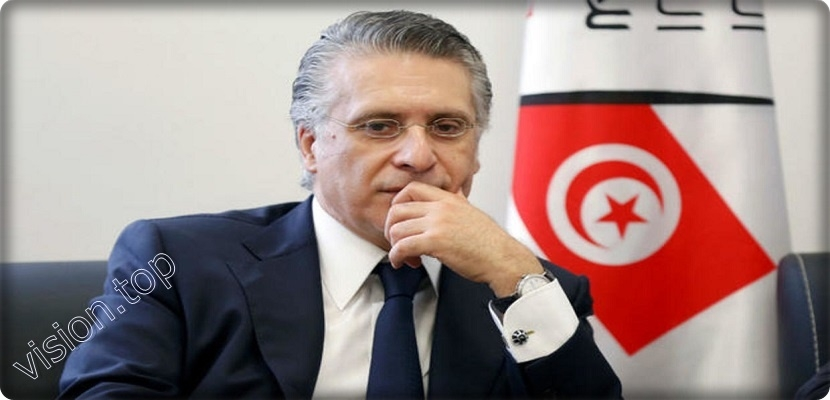 Tunisian presidential candidate, Nabil Karoui in the first reaction of his prison